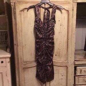 Betsy Johnson leopard print dress